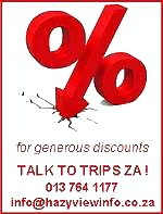 Cheaper rates from Trips ZA